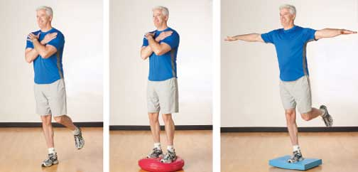 Balance Exercises for Hip Strength