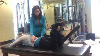 Post hip replacement exercises